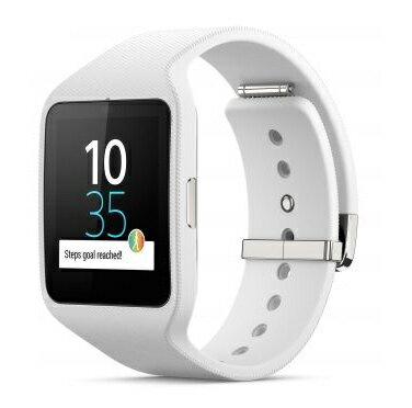 ◇ SONY ソニー スマートウォッチ3 Smart Watch 3 SWR50 White ホワイト シリコンブレス 並行輸入...