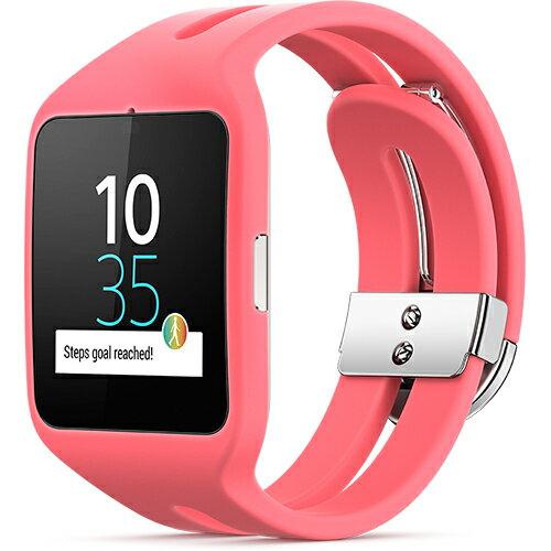 ◇ SONY ソニー スマートウォッチ3 Smart Watch 3 SWR50 Pink ピンク シリコンブレス 並行輸入品 1306-4907 ◆宅