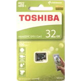 32GB microSDHCカード マイクロSD TOSHIBA 東芝 CLASS10 UHS-I R:100MB/s 海外リテール THN-M203K0320A4 ◆メ