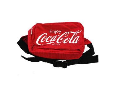 ウエストポーチ Coca-Cola コカ・コーラ ドウシシャ ボディバッグ 大容量26x10x18cm レッド CC18-295W ◆宅