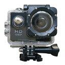 風見鶏で買える「アクションカメラ ウェアラブルカメラ フルHD1080p SAC 30m防水ケース付属 WEBカメラ機能 WiFi対応 ブラック AC200BK/W ◆宅」の画像です。価格は3,980円になります。