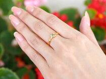 [送料無料]ハートリングペリドットダイヤモンド指輪イエローゴールドk1818金8月誕生石レディース【_包装】05P25Oct14