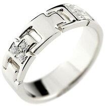 [送料無料]ダイヤモンドリングプラチナリング指輪ダイヤモンドリングピンキーリングダイヤ幅広pt900レディースクリスマスプレゼント【_包装】
