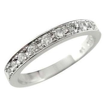 [送料無料]ピンキーリング プラチナ リング 指輪 ダイヤ ダイヤモンド リング スイートエタニティーリング0.20ct 小指にお守りとして【楽ギフ_包装】0824カード分割【コンビニ受取対応商品】:かざり屋