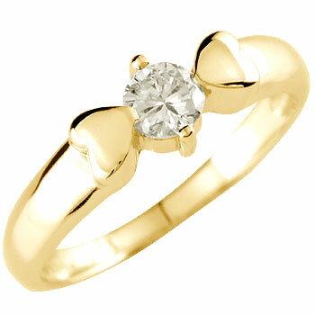 [送料無料]婚約指輪 エンゲージリング ダイヤモンド 指輪 一粒 大粒 イエローゴールドk1818k 18金【楽ギフ_包装】0824カード分割【コンビニ受取対応商品】:かざり屋