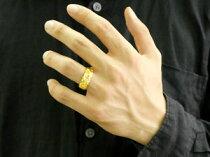 [送料無料]ハワイアンジュエリーハワイアンリング指輪イエローゴールドk1818金幅広8mm地金リング宝石なしハワイミル打ちハワジュメンズレディース【_包装】0601カード分割05P06Aug16