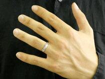 [送料無料]ハワイアンジュエリーホワイトゴールドk18イエローゴールドk18ペアリングダイヤモンド人気結婚指輪マリッジリングウェディングリング記念リングハート合わせるとハートミル打ちダイヤ2本セット【_包装】