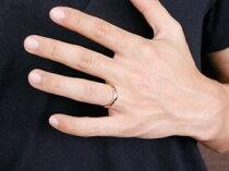 [送料無料]マリッジリングブライダルリングペアリング結婚指輪ダイヤモンドピンクゴールドk18ダイヤ18金結婚式記念ウェーブリング幅広裏抜きなしカップル【_包装】05P24Oct15