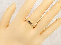 結婚指輪マリッジリングペアリングイエローゴールドk18リング結婚記念リングk182本セット