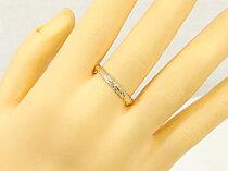 ハワイアンジュエリーハワイアンリング指輪K18小指に記念にお守りとしてイエローゴールドハワイ