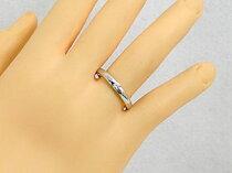 ペアリング結婚指輪マリッジリング一粒ダイヤダイヤモンドブラックダイヤモンドプラチナ2本セット【送料無料】