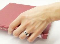 [送料無料]ペアリング結婚指輪マリッジリングホワイトゴールドk18一粒ダイヤモンドブルーダイヤモンド幅広ハンドメイド2本セット【_包装】