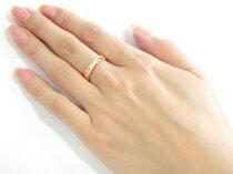 [送料無料]ペアリング結婚指輪マリッジリングピンクゴールドk18フルエタニティダイヤモンドハンドメイド2本セット【_包装】【RCP】05P30Nov13