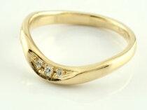 【送料無料】婚約指輪エンゲージリングダイヤモンドイエローゴールドk18【_包装】【50%OFF以上】【2sp_121011_green】