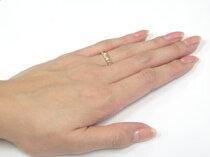 [送料無料]プラチナリング指輪ピンクゴールドk18ピンキーリングj地金リングコンビネーションリング【_包装】