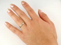 [送料無料]結婚指輪マリッジリングホワイトゴールドk18イエローゴールドk18ペアリングウェディングリング結婚記念結婚式地金リングミル打ち宝石なしシンプル【_包装】【RCP】