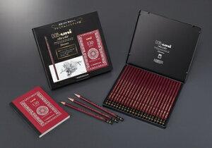 三菱鉛筆創業130年セット ハイユニ 10B-10H 22本 限定販売