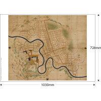 【NEW】1645/正保2年奥州仙台城絵図