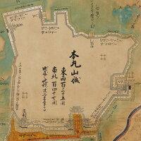 1645/正保2年奥州仙台城絵図