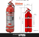 IRS LIFELINE AFFF水溶性フィルムフォーム 手動式消火器AFFF 2.4リットル品番:AFFF240H【 AFFF...
