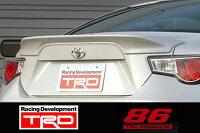 【TOYOTA86(ハチロク)ZN6/FA20後期型用】TRDリヤトランクスポイラーピュアレッド(M7Y)品番:MS342-18001-D1(TRDPERFORMANCEPARTS)
