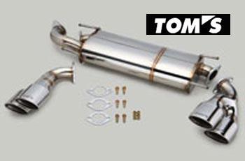 【 TOYOTA 86 (ハチロク) DBA-ZN6 / FA20用 】 トムス エギゾーストシステム バレルマフラー 4テール 品番コード: 17400-TZN61 ( TOM'S Exhaust System Barrel ) ※送料無料 (沖縄県および離島は除く)
