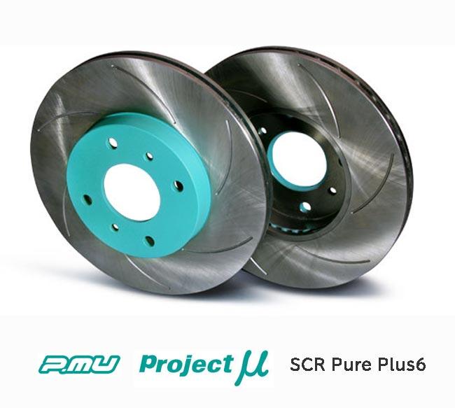 ブレーキ, ブレーキローター  B4 2.5GT BM9 (EyeSight) SCR Pure Plus6 () SPPF205-S6 (Project SCR Pure Plus6 Brake Rotor) ()