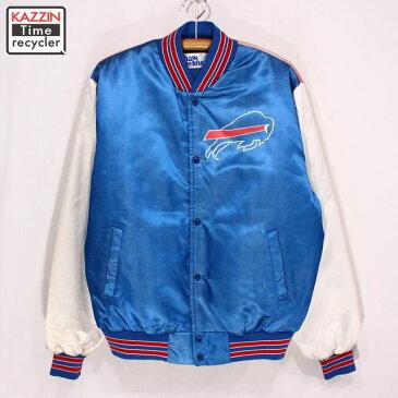 古着 90sチョークライン NFL ビルズ パネルジャケット ★ XLサイズ クリスマス プレゼント ギフト