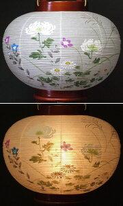 『大内行灯欅絵入10号(木製)』