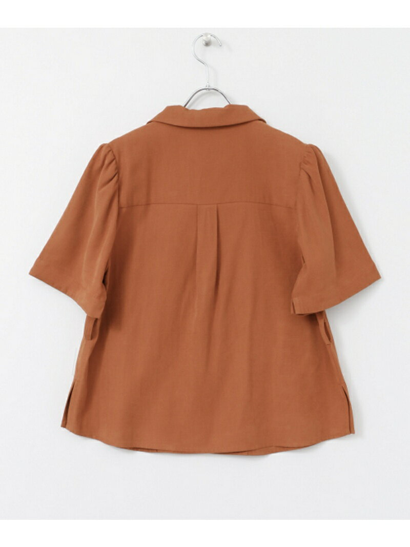 [Rakuten BRAND AVENUE]KBF+ ショルダータックテーラーシャツ KBF ケービーエフ シャツ/ブラウス