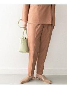 [Rakuten Fashion]【SALE/60%OFF】KBF+ ワンタックテーパードパンツ KBF ケービーエフ パンツ/ジーンズ パンツその他 ブラウン ベージュ【RBA_E】