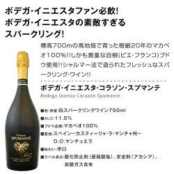 【送料無料】≪日本でプレーするイニエスタ選手を応援しよう!!≫当店独占直輸入の上級赤ワインとスパークリングワインも入った!!ボデガ・イニエスタのワインセット4本!