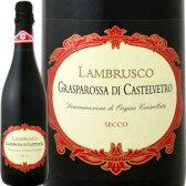 フォルミージネ・ペデモンターナ・ランブルスコ・グラスパロッサ・ディ・カステルヴェトロ・セッコ 【イタリア】【赤微発泡】【750ml】【辛口】【Formigine Pedemontana】  スパークリングワイン