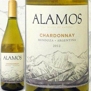 カテナ・アラモス・シャルドネ 2013【アルゼンチン】【白ワイン】【750ml】【フルボディ】【辛口】