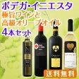 【送料無料】京橋ワイン完全オリジナル!ボデガ・イニエスタの極旨ワインと高級オリーブオイル4本セット!