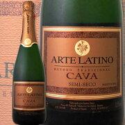 アルテラティーノ・カヴァ・セミセコ スペイン スパークリングワイン ミディアムボディ スパーク ぶどう酒 プレゼント パーティー ホワイト