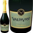 白ワイン バルディヴィエソ・エクストラ・ブリュット【チリ】【白スパークリングワイン】【750ml】【ミディアムボディ】【辛口】