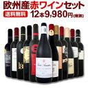 ワイン 【送料無料】第91弾!超特大感謝!≪スタッフ厳選≫の激得赤ワインセット 12本!