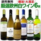 [クーポンで10%OFF]ワイン 【送料無料】第109弾!当店厳選!これぞ極旨辛口白ワイン!『白ワインを存分に楽しむ!』味わい深いスーパー・セレクト白6本セット