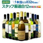 白ワイン セット 【送料無料】第90弾!超特大感謝!≪スタッフ厳選≫の激得白ワインセット 12本!
