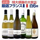 白ワイン セット 【送料無料】特大感謝の厳選フランス白ワインセット 6本!