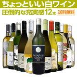 【送料無料】第17弾!当店オススメばかりを厳選したちょっといい白ワイン12本セット!