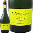 コノスル・ブリュット NV【チリ】【白スパークリングワイン】【750ml】【辛口】【Cono Sur】