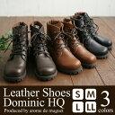 arome de muguet アロマドミュゲ レザーシューズ ショート レースアップ ドミニク HQ Dominic HQ ショートブーツ レディース ワークブーツ A109E-CZ-042 ブーツ 日本製 牛革 レザーブーツ 靴