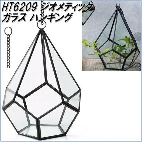 エイチツーオー HT6209 ジオメティックガラス ハンギング【メーカー直送】【代引き/同梱不可】【鉢植え、プランター、ポット、観葉植物】