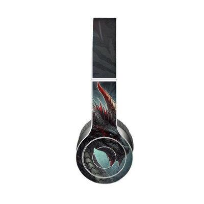 【Decalgirl】Beats Solo 3 Wireless/Beats Solo 2 Wireless/Beats Studio Wireless/Beats Solo 2/Studio 2013/Beats Mixr/Beats Wireless(2012年以前)/Beats Studio/Beats Solo HD用プレミアムスキンシール【Black Dragon】【お取り寄せ3週間】カバーケース