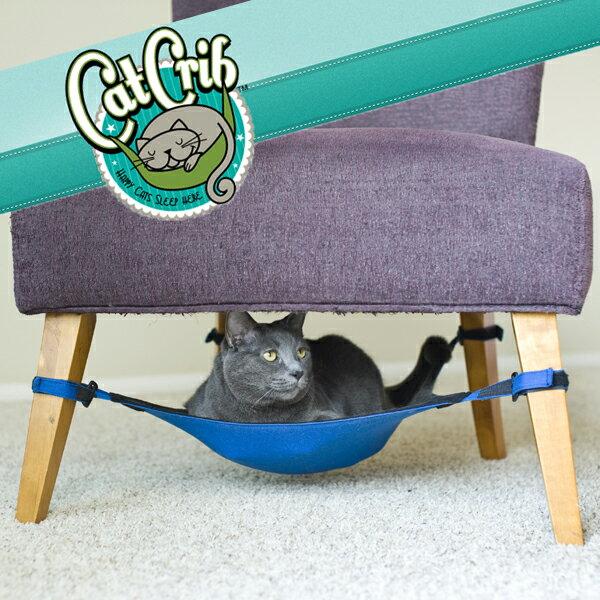 キャットクリブ/場所を取らない隠れ家風猫ハンモックです/省スペース/おすすめ/軽い/キャットベッド/キャットハウス