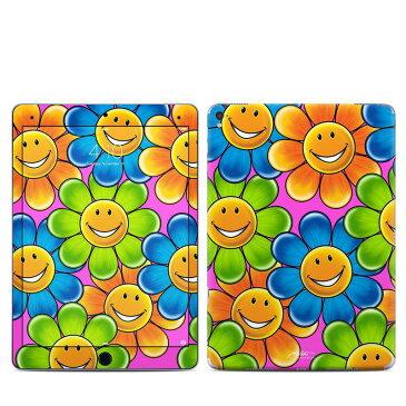 【Decalgirl】Apple iPad Pro9.7/iPad Pro12/iPad Air2/iPad Air/iPad3/iPad2/iPad用スキンシール【Happy Daisies】【お取り寄せ1週間から2週間】ケースカバー