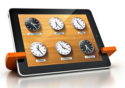 【メール便発送可能送料210円】かさばらないiPadスタンド。iPad2スタンドとしても利用可能です...