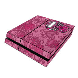 【Decalgirl】【PS4/PS3/PlayStation3/4各種用スキンシール用プレミアムスキンシール【Pink Lace】【お取り寄せ3週間】
